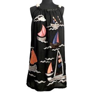 Gorgeous Embroidered Lightweight Summer Dress